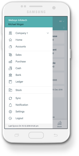 Websys mobile application